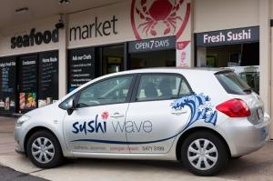 Sushi Wave - great sushi on the Sunshine Coast