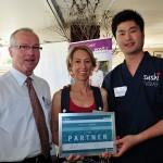 Receiving the ecoBiz Partner award