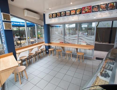 Sushi Wave renovations