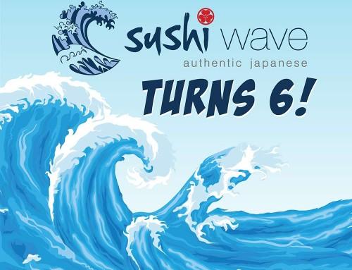 Sushi Wave turns 6!